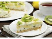 Йогуртовый торт с киви и бананом